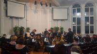 Выступление оркестра Сувенир