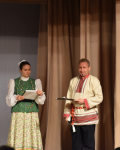 Ведущие - Сивова Анастасия и  Рассадкин В.В.