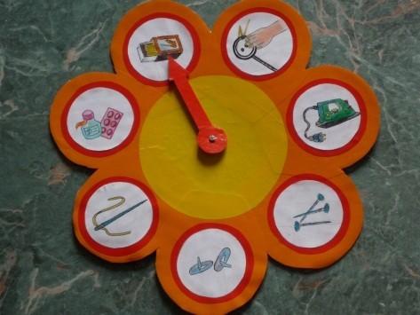 Часы безопасности для детей своими руками
