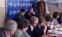 С.Н. Бурдасов и А.В. Филин на совещании с директорами школ