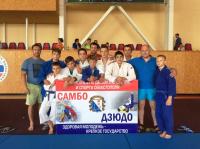 Дзюдоисты СШ «Юность» - призёры на турнире в Севастополе