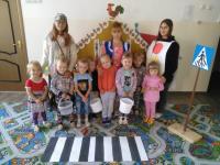 Старшеклассницы МКОУ Глядковская СШ провели занятие по пож. безопасности в дошкольной группе