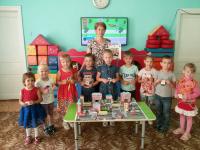 В Алешинском детском саду ребята вспоминали правила безопасного дорожного движения для пешеходов