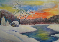 10б. jpg Синяева Ксения    Зимой