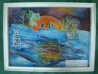 Синяева Ксения Зимний закат