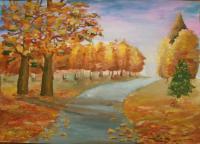 Шиганова Карина  12 лет Золотая осень