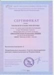 Сертификаты педагогов за подготовку воспитанников в Международном конкурсе рисунков 1