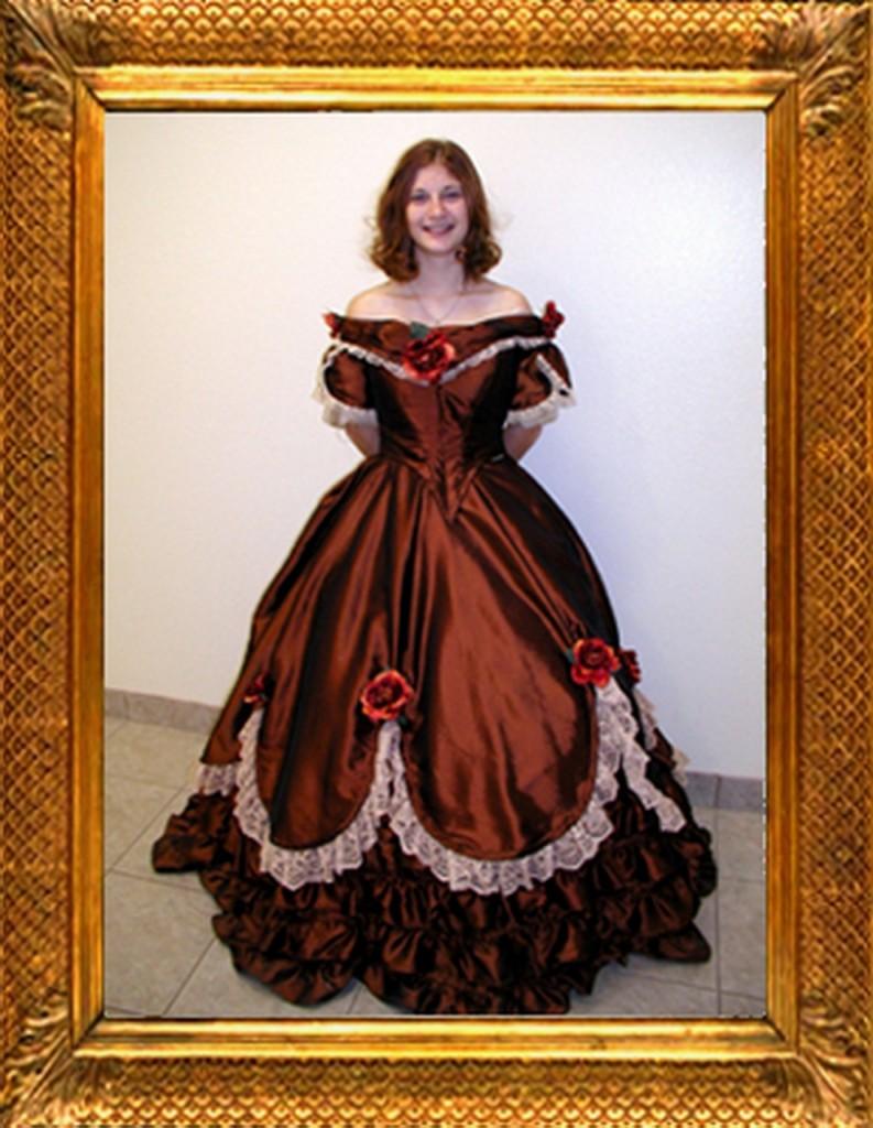Как сшить платье бальное 18 века 17