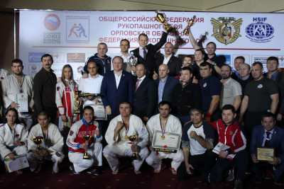 Чемпионат России по рукопашному бою среди мужчин и женщин  08-11 декабря 2016 г.