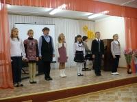 Вокальный номер от воспитанников Фёдоровой Т. А.