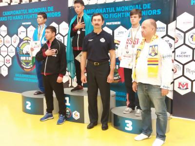 Две бронзовые медали завоевали спортсмены Тульской области на первенстве Мира по рукопашному бою в Румынии