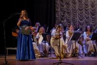 _MG_0008 оркестр «Ясная Поляна» и ведущая концерта Евгения Шестова