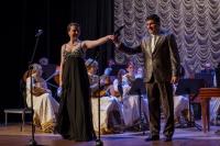 _MG_0539 В. Серёгина и Б. Хамперов исполняют произведение И. Кальман «Дуэт Стаси и Бони»