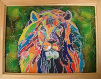 13в.jpg Третьякова Елизавета    Радужный лев
