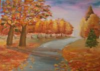 Шиганова Карина Деревенская осень