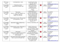 Афиша план новогодних и рождественских мероприятий - 0013