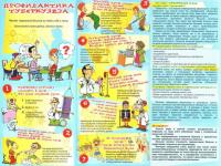 Профилактика туберкулеза для мам и пап
