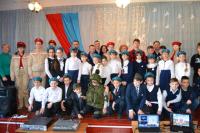 Участ.лыж.перехода с юнармейцами СОШ №6