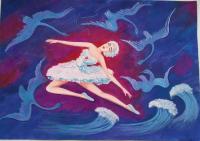 Полынкина Кира  Танец лебедя