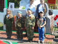 Митинг, посвященный 71-годовщине  Великой Победы (д.Дворики)
