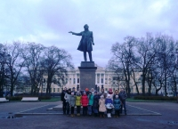 Наша делегация в Санкт-Петербурге