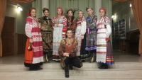 Фото с коллективом из Казахстана