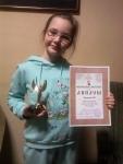 Катя Шишкина - Лауреат III степени