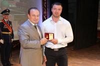 Директор ДЮСШ «Юность» награждён медалью Тульской городской Думы.