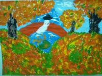 Семья Аслоновой Марии «Прогулка по осеннему парку»