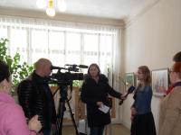 14ПанковаН.даетинтервью Тульскому телевидению