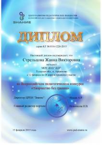 Сертификат Стрельцова - 0003
