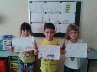 Победители конкурса рисунков Я по улице иду 11.08.17
