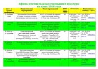 Афиша (план мероприятий) на июнь 2016 - 0001