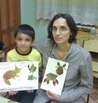Антон с мамой