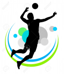 26162309-Illustration-of-volleyball-sport-vector-Stock-Photo