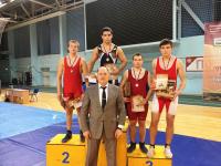 Тренер и спортсмен СШ «Юность» привезли два золота с соревнований из Перми