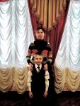 Г. Карымов и преп. Ю.П. Рыбкина