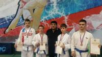 Призеры ПР с тренером Ахадовым Д.М.О_