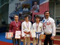 Победители ПР Каретников Никита, Сенашкин Егор, Улисков Денис