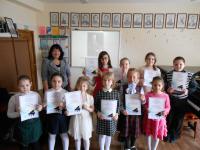 Ученики, ставшие победителями конкурса