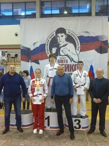 Улисков 1 место
