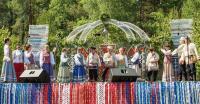 Выступление Тульского хоровода